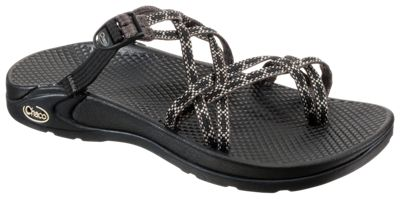 82aafd455c1d Chaco Zong X EcoTread Sandals for Ladies Fizz Black 6 M