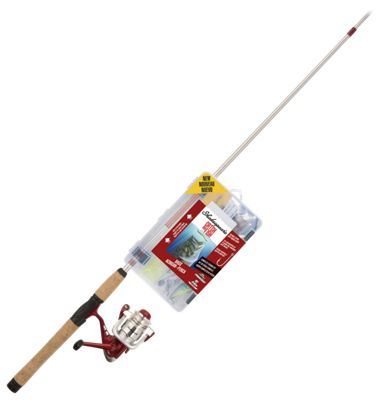 Shakespeare Catch More Fish Spinning Rod and Reel Combo