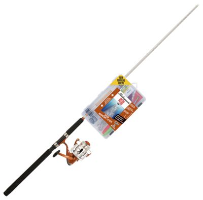 Shakespeare Catch More Fish Spinning Rod and Reel Combo for Catfish – Model CMF2CATFISH