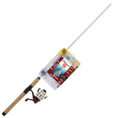 Shakespeare Catch More Fish Spinning Rod and Reel Combo for Walleye – Model CMF2WALLEYE