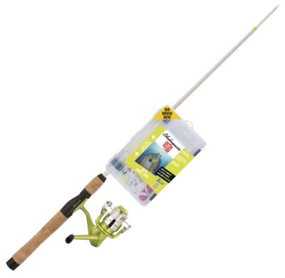 Shakespeare Catch More Fish Youth Spinning Rod and Reel Combo – Model CMF2YOUTHSP