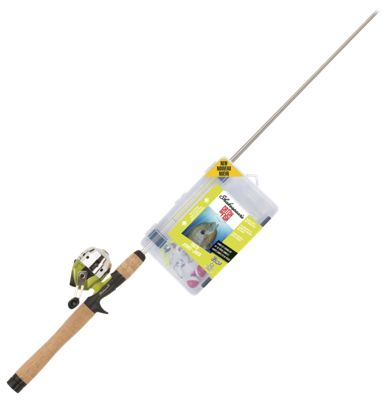 Shakespeare catch more fish youth spincast rod and reel for Shakespeare catch more fish