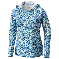 Columbia Long-Sleeve PFG Super Tidal Tee Hoodie for Ladies
