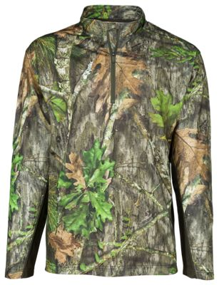 682a155ec3c6b RedHead Stalker Lite 14 Zip Shirt for Men Mossy Oak Obsession NWTF 2XL