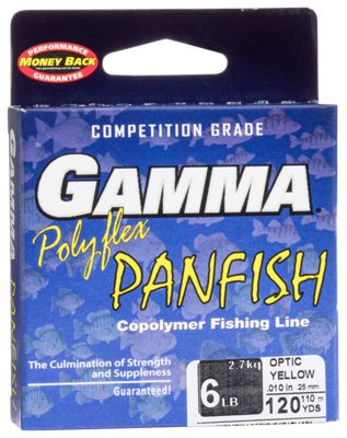 Gamma panfish copolymer fishing line bass pro shops for Gamma fishing line