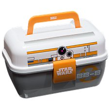 Zebco Star Wars BB8 Tackle Box for Kids