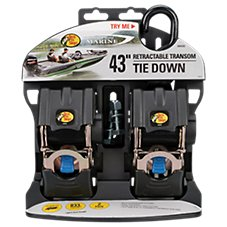 Bass Pro Shops 2-Pack Retractable Transom Tie Down