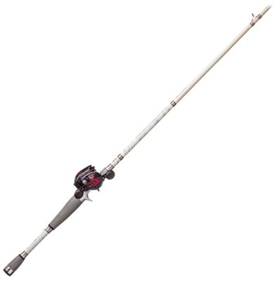 Abu Garcia Revo SX/Bass Pro Shops Johnny Morris CarbonLite 2.0 Baitcast Rod and Reel Combo – Model REVO4SX/JCT70MTF