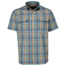 Ascend Dobby Plaid Shirt for Men