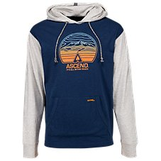 Ascend Strata Graphic Hoodie for Men