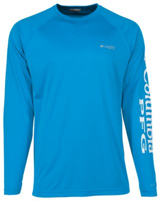 918bd6d7 Columbia PFG Terminal Tackle T Shirt Blue Chill 2XL