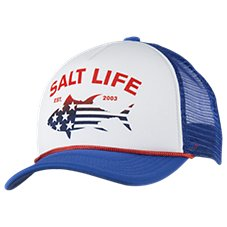 Salt Life Tuna Patriot Cap for Kids