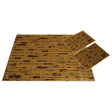 United Weavers of America Quilted Arrow 3-Piece Rug Set