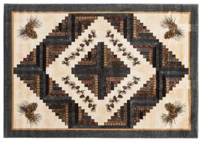 United Weavers Cabin Rising by Donna Sharp Area Rug - Scatter - 22x36
