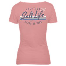 Salt Life Vacay State of Mind T-Shirt for Ladies