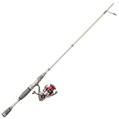 Shimano Stradic spinning rod and reel combo.