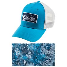 World Wide Sportsman Logo Cap and Sun Stopper Gaiter Combo Image