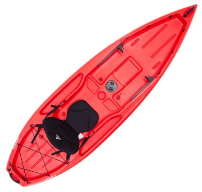 Ascend D10T Sit-On-Top Kayak Red by