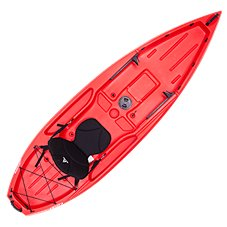 Ascend D10T Sit-On-Top Kayak Red
