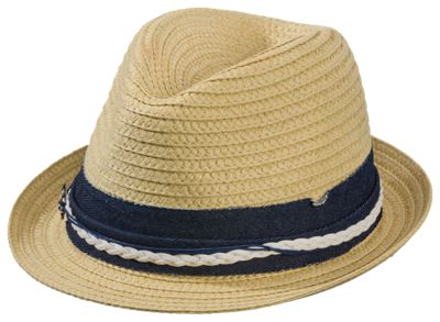 8fbf0211f5d Dorfman Pacific Braided Fedora for Ladies Navy