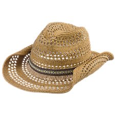 Dorfman Pacific Aztec Band Cowboy Hat for Ladies