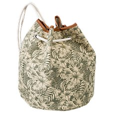 Dorfman Pacific Hibiscus Drawstring Backpack
