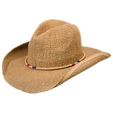 Dorfman Pacific Toyo Braided Hat for Ladies