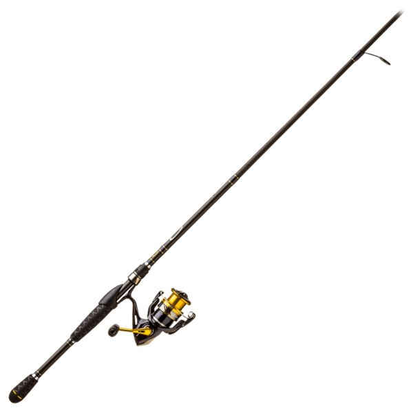 Shimano Nasci/Bass Pro Shops Pro Qualifier 2 Spinning Rod and Reel Combo - Model NAS4000XGFB/PQL76MHS