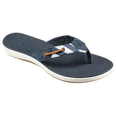 Sperry Seabrook Surf Breton Stripes Thong Sandals for Ladies
