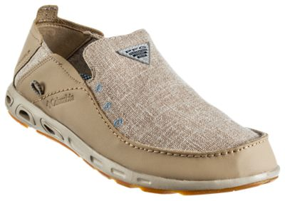 Columbia Bahama Vent Loco II PFG Slip-On Shoes for Men - Ancient Fossil - 9.5M