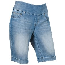 Natural Reflections Stretch Bermuda Shorts for Ladies