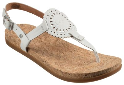 70eb71ef288 UGG Ayden II Thong Sandals for Ladies White 6M