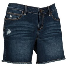 Natural Reflections Easy River Denim Shorts for Ladies