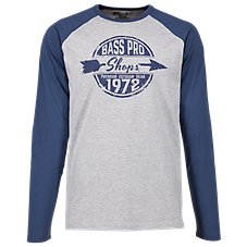 Bass Pro Shops Arrow Graphic Raglan Long-Sleeve Shirt for Men