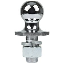 REESE Towpower Chrome Interlock Hitch Ball