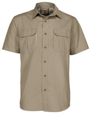 148295fb797 RedHead Vented Expedition Solid Shirt for Men Khaki 2XLT
