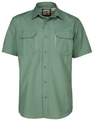 meet f16b1 efb2c RedHead Vented Expedition Solid Shirt for Men Summer Sage XL
