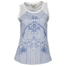 Bob Timberlake Embroidered Sleeveless Top for Ladies