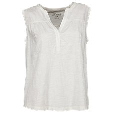 Natural Reflections Notch-Neck Sleeveless Top for Ladies