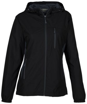 Natural Reflections Sugar Creek Hooded Jacket For Ladies Black Xl