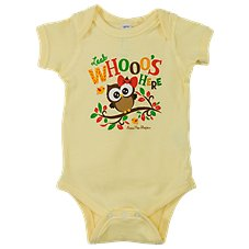 Bass Pro Shops Look Whooo's Here Bodysuit for Babies