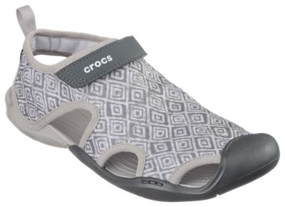 1b902f7848661c Crocs Swiftwater Graphic Mesh Sandals for Ladies