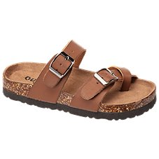RedHead Bork Double Buckle Toe Loop Sandals for Kids
