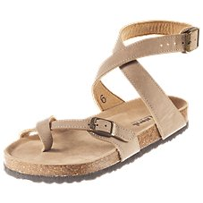 Natural Reflections Mindy Toe-Loop Sandals for Ladies
