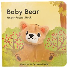 Baby Bear Finger Puppet Book for Kids by Yu-Hsuan Huang
