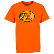 Bass Pro Shops Johnny Morris Woodcut Logo T-Shirt for Toddlers or Kids
