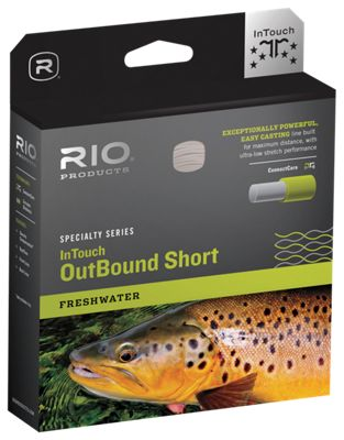 RIO InTouch OutBound Short Floating Fly Line - Line Weight 10
