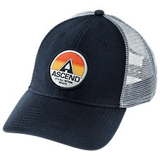 Ascend Sunset Patch Mesh Back Cap