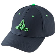 Ascend Stacked Logo Fitted Cap