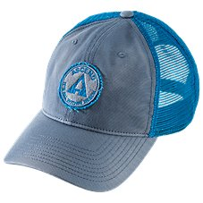 Ascend Circle Patch Mesh Back Cap